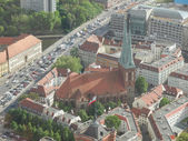 Berlin aerial view — Stockfoto