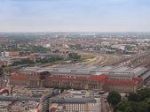 Vista aérea de Leipzig — Foto de Stock