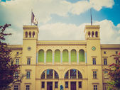 Retro look Hamburger Bahnhof — Stock Photo