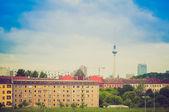 Retro look Berlin Germany — Stock Photo