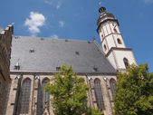Thomaskirche Leipzig — Fotografia Stock