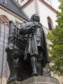 Neues Bach Denkmal — Stok fotoğraf