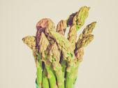 Retro look Asparagus — Stock fotografie