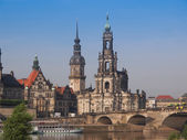Dresden Hofkirche — Stock Photo
