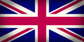 Retro look UK Flag — Stockfoto