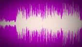 Retro look Sound waves — Stock fotografie