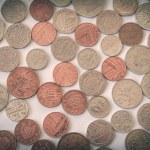 Retro look British pound coin — Stock Photo #51142617