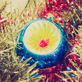 Retro look Baubles — Foto Stock