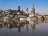 ドレスデン宮廷教会 — ストック写真