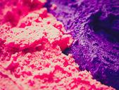 Retro look Ice cream — Stock Photo