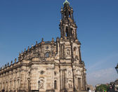 Hofkirche di dresda — Foto Stock