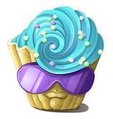 Cake Monster — Stock Vector