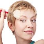 Makeup. Make-up Face — Stock Photo