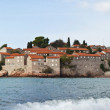 Stock Photo: Sveti Stefisland in Montenegro