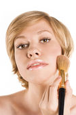 Cosmetic. Base for Perfect Make-up. — Stock Photo