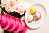 Photo of 3 cupcakes — Stock Photo