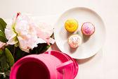 Set of cupcakes — Stock Photo