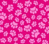 Background animal footprints vector illustration — Stock Vector