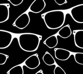 Glasses seamless pattern — Vector de stock