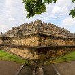 Borobudur temple, Yogyakarta, Java island, Indonesia - Stock Photo