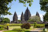 Isla de prambanan temple, yogyakarta, java, indonesia — Foto de Stock