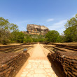 Stock Photo: SigiriyLion's rock fortress in Sri-Lanka