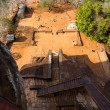 View from Sigiriya Lion's rock palace — Stockfoto