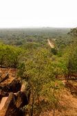 View from Sigiriya Lion's rock palace — Stock Photo