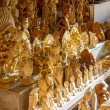 Wooden crafts for sale — Stok Fotoğraf #22583847