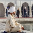 Sikh in a obliteration prayer — Stock Photo #23965473