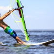 Fast approaching windsurfer — Stock Photo #28748977