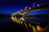 Bridge at a quiet night — Stock Photo