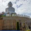 Stock Photo: Big Buddhunder construction with scaffolds in Phuket, Thailand