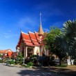 Wat Chalong temple at sunny day Phuket Thailand — Stock Photo