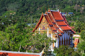 Templet wat chalong på solig dag phuket thailand — Stockfoto