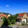 Wat Chalong temple at sunny day Phuket Thailand — Stock Photo #36733641
