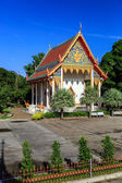 Tempio di wat chalong al giorno soleggiato phuket thailandia — Foto Stock