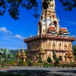 Wat Chalong temple at sunny day Phuket Thailand — Stock Photo #45989559