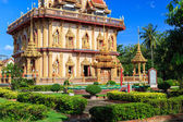 Wat Chalong temple at sunny day Phuket Thailand — Foto Stock