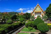 Wat chalong Tapınağı'nda güneşli gün phuket Tayland — Stok fotoğraf