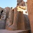 Statue of Ramses II in Luxor Temple — Stock Photo #7974962