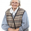 Portrait of senior woman looking at the camera — Stock Photo
