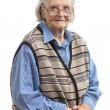 Portrait of a senior woman looking at the camera — Stock Photo