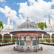 Sokollu Mehmet Pasha Camii courtyard - Stock Photo