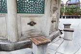 Ablution fountain — Stock Photo