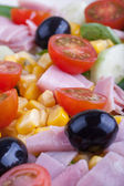 Colorful salad — Stock fotografie