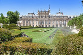 Royal Palace of La Granja de San Ildefonso in Segovia, Spain — Stock Photo