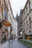 Karlova Street in Prague — Stock Photo