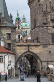 Entrance to Mala Strana in Prague. — Stock Photo