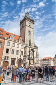 Old Town Square in Prague, Czech Republic — Stock fotografie